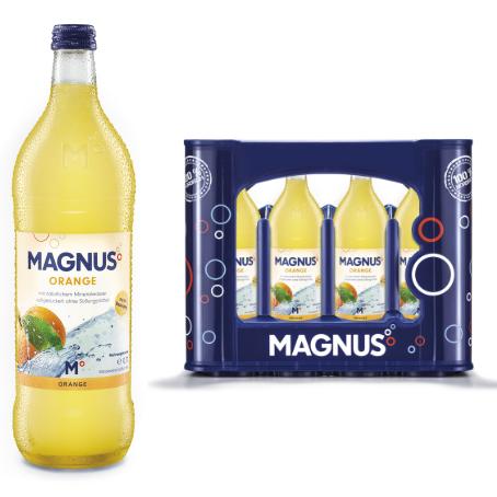Magnus Orangenlimonade (12/0,7 Ltr. Glas MEHRWEG)