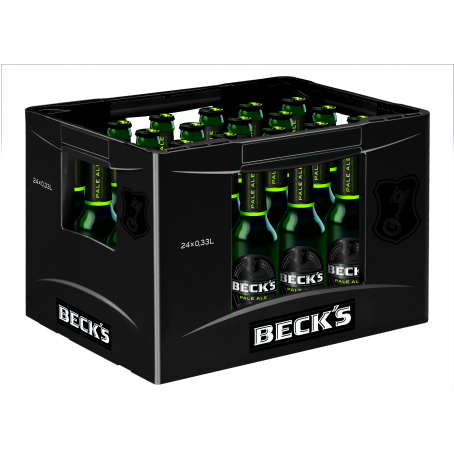 Becks Bier Pale Ale (24/0,33 Ltr. Glas MEHRWEG)