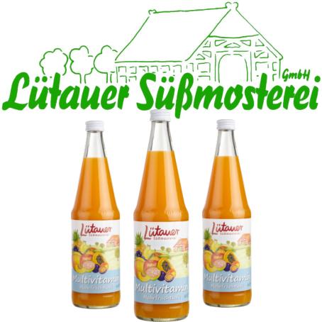 Lütauer Multivitaminsaft (6/0,7 Ltr. Glas MEHRWEG)