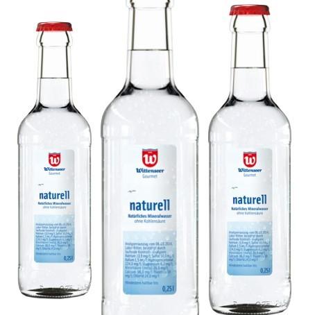 Wittenseer Gourmet naturell (20/0,25 Ltr. Glas MEHRWEG)