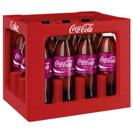 Coca Cola Cherry (12/1,0 Ltr. PET MEHRWEG)