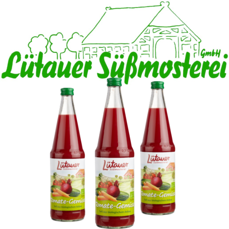 Lütauer Tomaten-Gemüsesaft (6/0,7 Ltr. Glas MEHRWEG)