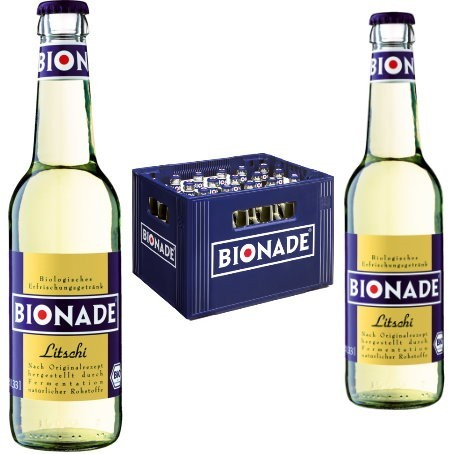 Bionade Litschi (24/0,33 Ltr. Glas MEHRWEG)