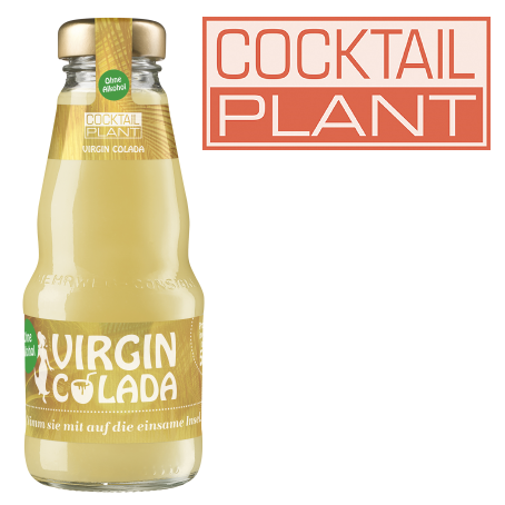 Cocktail Plant Virgin Colada af (24/0,2 Ltr. MEHRWEG)