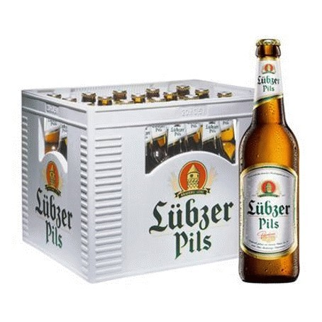Lübzer Pils (24/0,33 Ltr. Glas MEHRWEG)