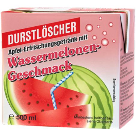 Durstlöscher Wassermelone (12/0,5 l Packungen Einweg)