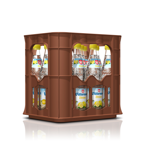 Wittenseer Wasser plus Lemon (12/0,7 Ltr. Glas MEHRWEG)