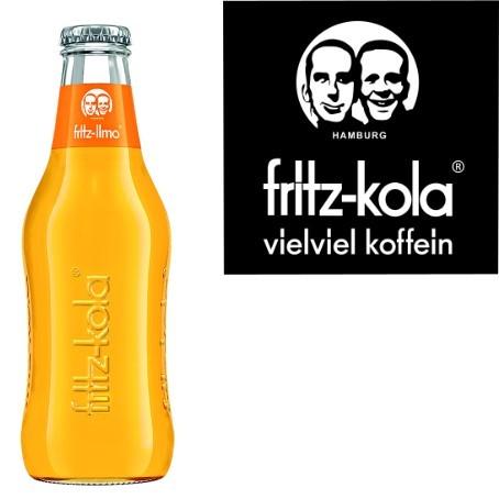 fritz -limo Orangenlimonade (24/0,2 Ltr. Glas MEHRWEG)