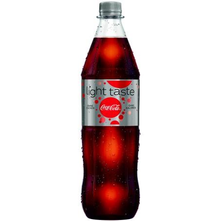 Coca Cola LIGHT (Einzelflasche 1,0 Ltr. MEHRWEG)
