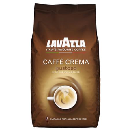 Lavazza Caffe Crema Gustoso ganze Bohnen (1 kg Beutel)