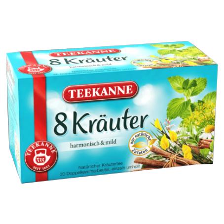 Teekanne Kräutertee 8-Kräuter