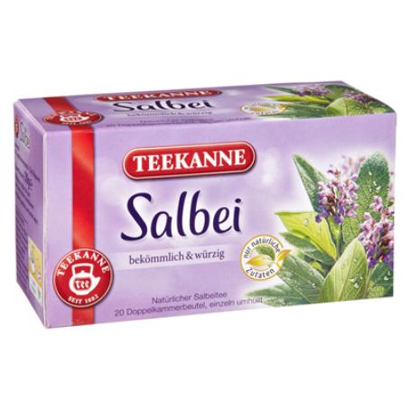 Teekanne Kräutertee Salbei
