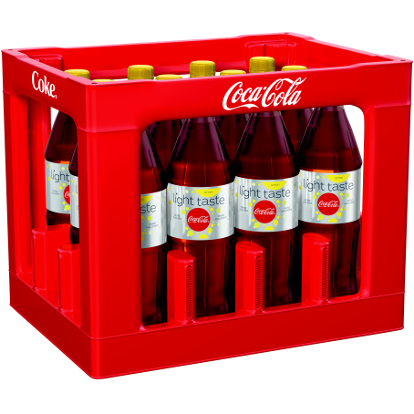Coca Cola light Lemon +C (12/1,0 Ltr. PET MEHRWEG)
