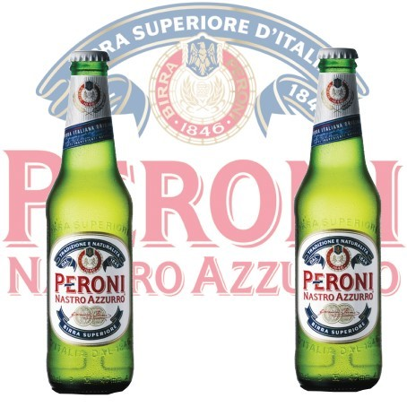 Peroni Nastro Azzurro (24/0,33 Ltr. Ew. Glas)