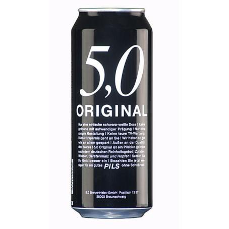 Original 5.0 Pils (24/0,50 Ltr. Dose EINWEG)