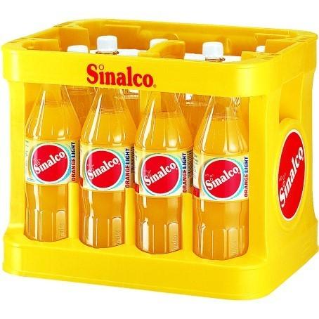 Sinalco Orange light (12/1 Ltr. PET MEHRWEG)