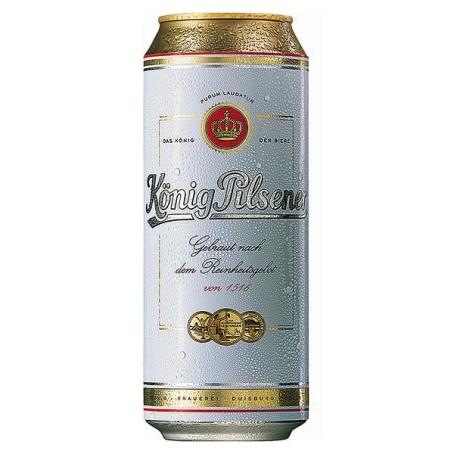 König Pilsener (24/0,50 Ltr. Dose EINWEG)