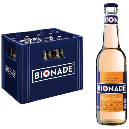 Bionade Ingwer Orange (12/0,33 Ltr. Glas MEHRWEG)