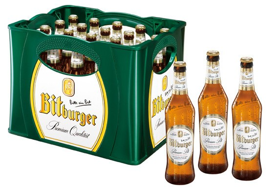 Bitburger Pils (20/0,5 Ltr. Glas MEHRWEG)