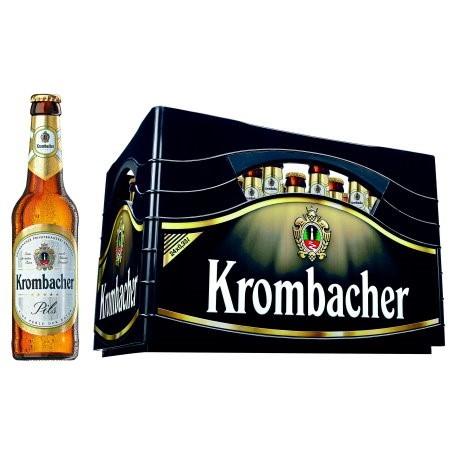 Krombacher Pils (24/0,33 Ltr. Glas MEHRWEG)