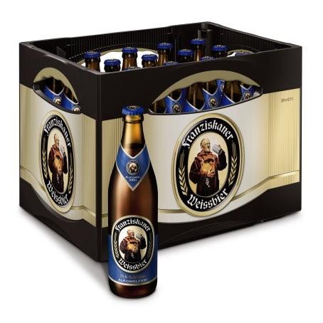Franziskaner alkoholfrei (20/0,5 Ltr. Glas MEHRWEG)