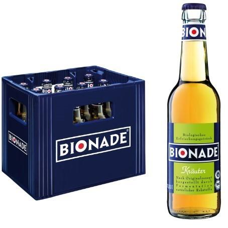 Bionade Kräuter (12/0,33 Ltr. Glas MEHRWEG)