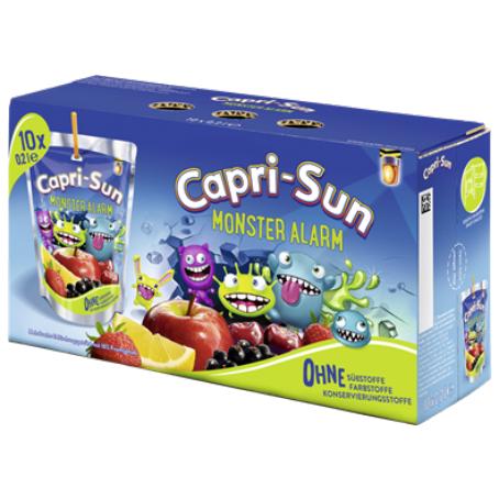 Capri Sun Monster Alarm (10/0,2 ml. Einweg)