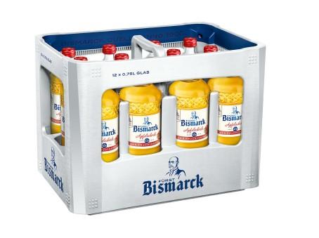 Bismarck Apfelschorle (12/0,7 Ltr. Glas MEHRWEG)
