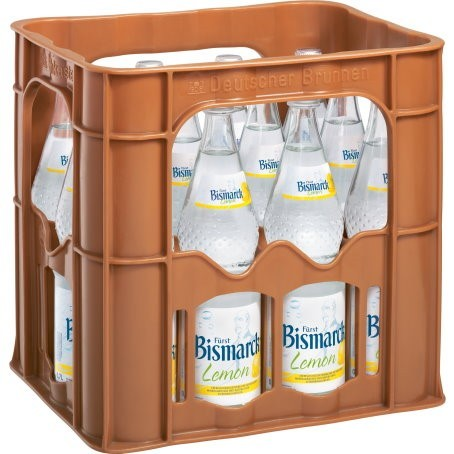 Bismarck Landfrische Zitrone (12/0,7 Ltr. Glas MEHRWEG)