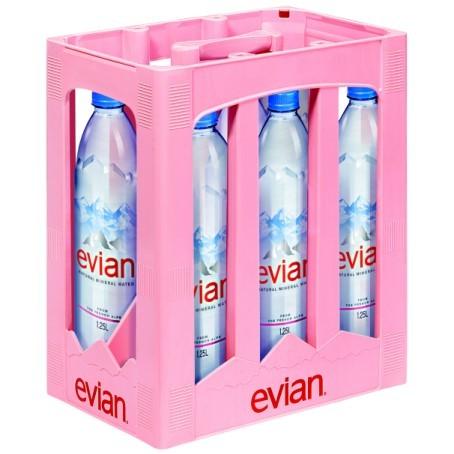 Evian (6/1,25 Ltr. PETc EINWEG)