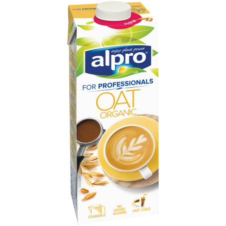 Alpro® Bio Haferdrink For Professionals (8/1 Ltr.)