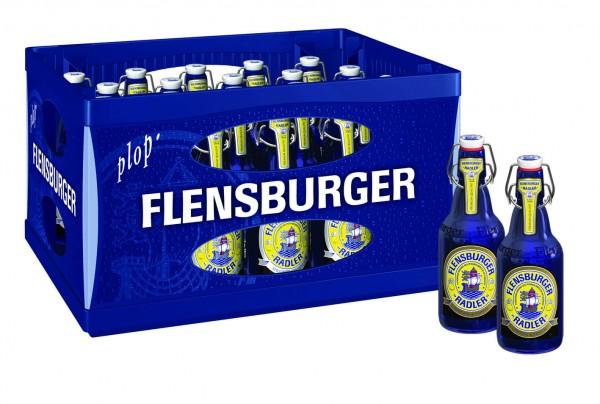 Flensburger Pils Radler (20/0,33 Ltr. Glas MEHRWEG)