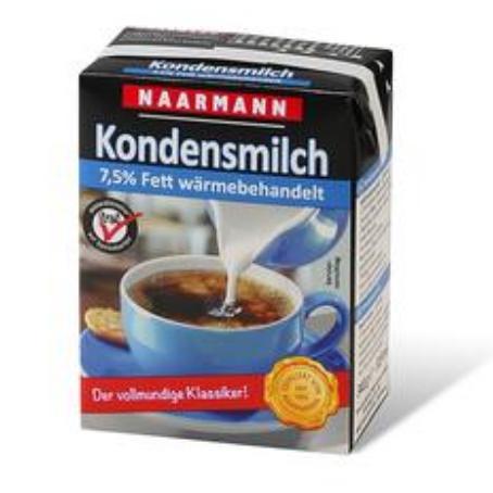Naarmann Kondensmilch 7.5% (20/340 g.)
