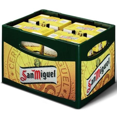 San Miguel (24/0,33 Ltr. Glas MEHRWEG)