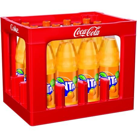 Fanta Orange (12/1,0 Ltr. PET MEHRWEG)