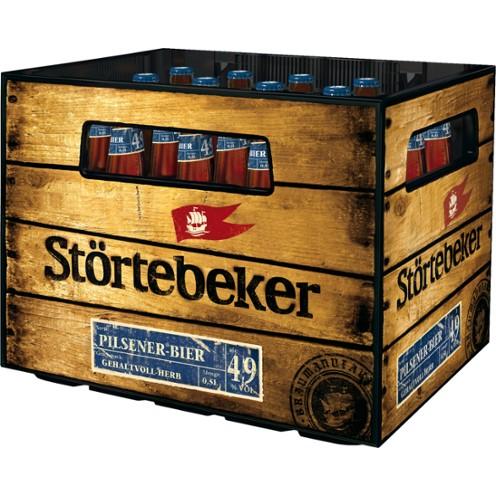 Störtebeker Pilsner Bier (20/0,5 Ltr. Glas MEHRWEG)