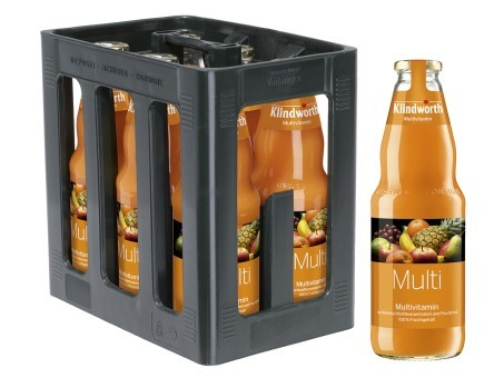 Klindworth Multi Vitamin light (6/1 Ltr. Glas MEHRWEG)