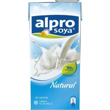 alpro soya calzium 1,9 g Fett (12/1,0 Ltr.)