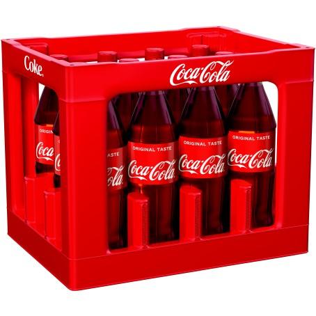 Coca Cola (12/1,0 Ltr. PET MEHRWEG)