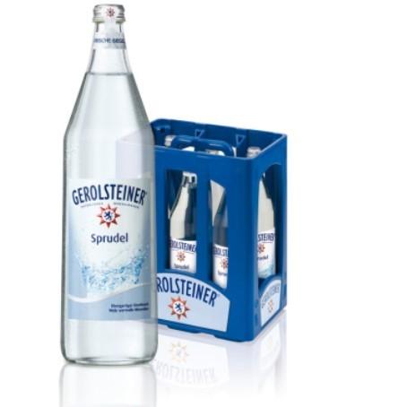 Gerolsteiner Sprudel (6/1 Ltr. Glas MEHRWEG)