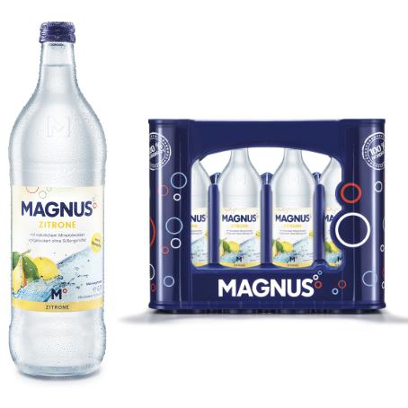 Magnus Zitronenlimonade (12/0,7 Ltr. Glas MEHRWEG)